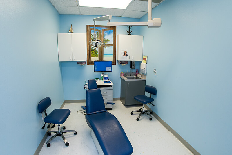 Hygiene Room for Kennedy Dental Care Calallen Office