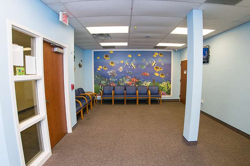 Main waiting room for Kennedy Dental Care Calallen Office