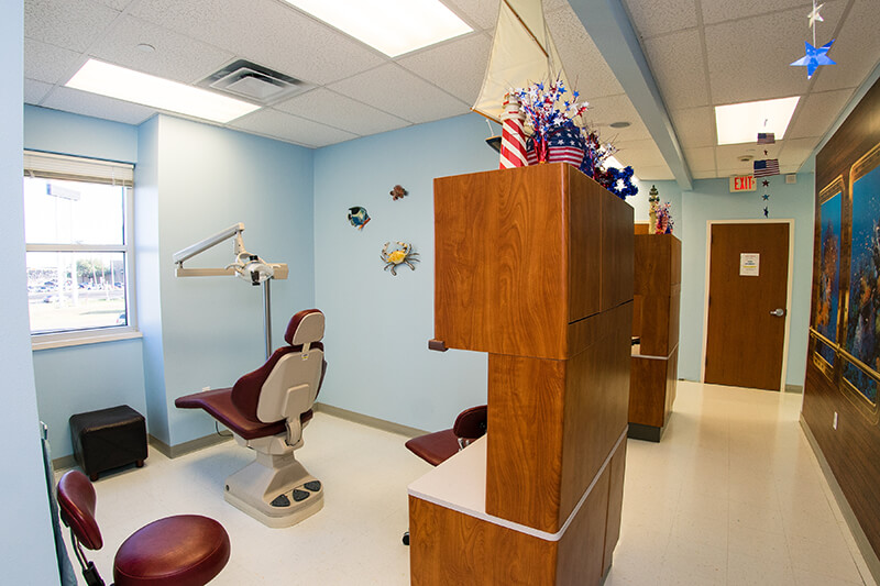 Open bay for Kennedy Dental Care Calallen Office