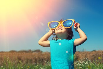 Child with sunglasses - Pediatric Dentistry and Orthodontics in Corpus Christi, TX