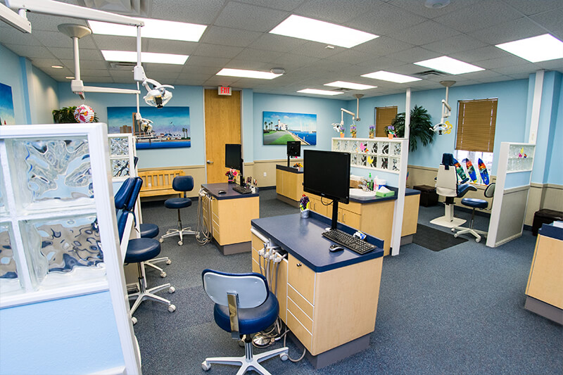 Open Bay for Kennedy Dental Care Saratoga Office