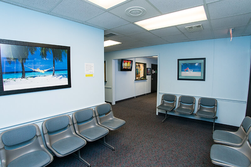Seating Area for Kennedy Dental Care Alameda Office